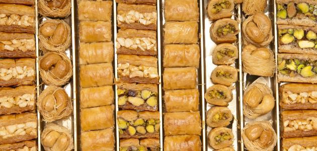 صوره حلويات شرقية , وصفات حلويات شرقية