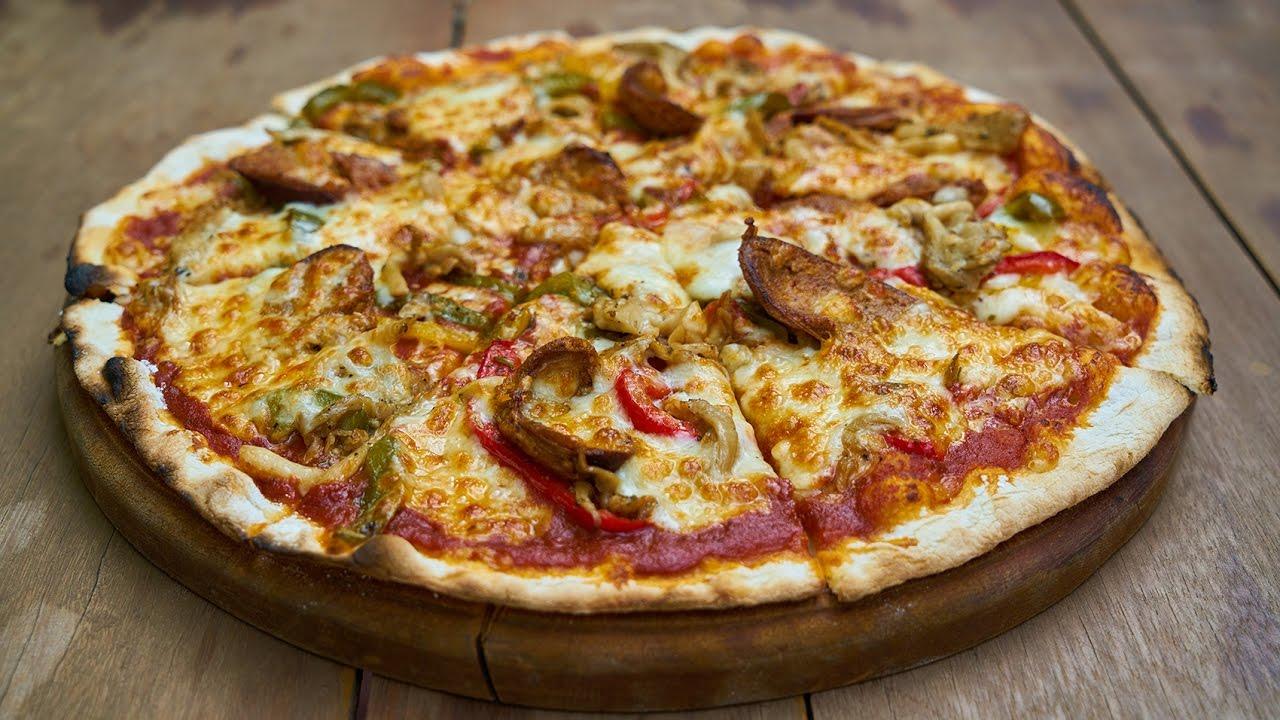 صور كيفية تحضير البيتزا , اسهل طريقة لعمل البيتزا في المنزل