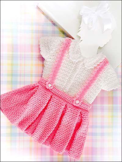 بالصور فساتين اطفال كروشيه , اجمل الفساتين للاطفال بالكروشيه 2758 6