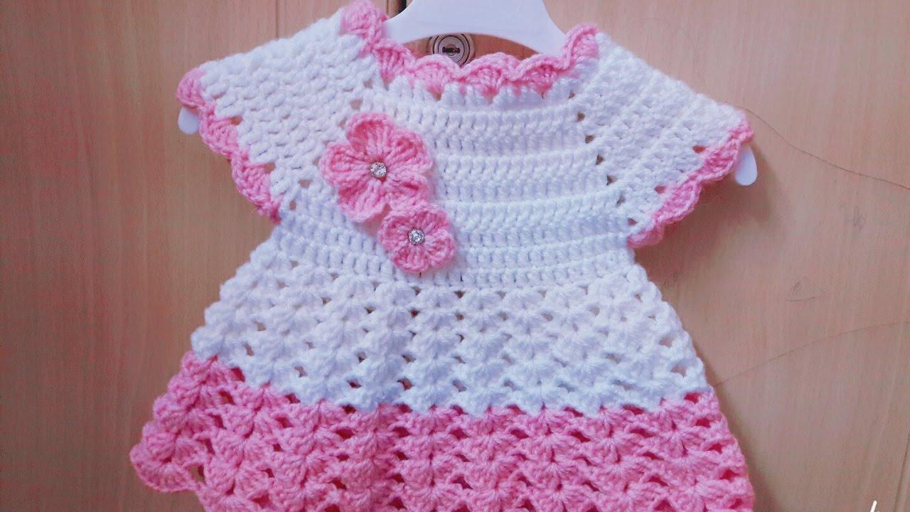بالصور فساتين اطفال كروشيه , اجمل الفساتين للاطفال بالكروشيه 2758
