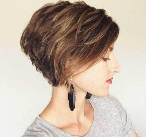 بالصور صور تسريحات للشعر القصير , احدث الصيحات لتسريحات الشعر القصير 2802 8