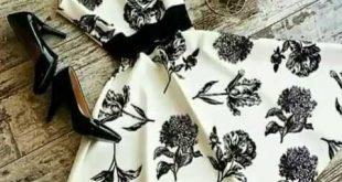 صوره فساتين قصيرة تركية , اجمل الفستانين التركيه القصيرة