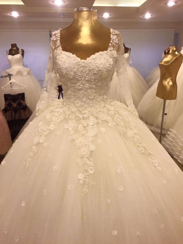 صورة احدث فساتين الزفاف , اجمل صور فستان زفاف