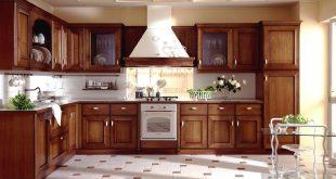 صوره صور مطابخ خشب , اجمل صورة للمطبخ خشب