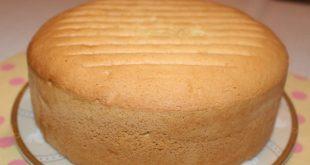 طريقة عمل الكيكة الاسفنجية بالصور , اسهل طريقة لعمل الكيك