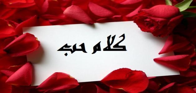 بالصور كلام حب للحبيب , اجمل كلام الحب 3839