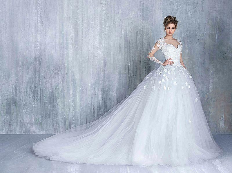 bc519ee2c صور فساتين عروس , اجمل صور فساتين عرايس - بنات كول