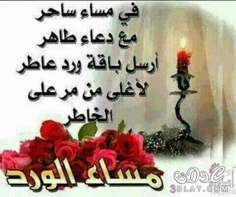بالصور مساء الخير كلمات , عبارات مساء الخير 5290 5
