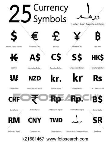 بالصور رموز العملات , العملات ورموزها واشكالها 5332 2