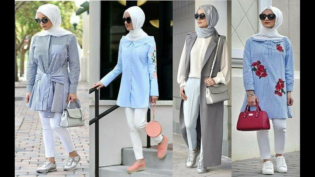صوره ملابس محجبات تركية , احدث المودلات للملابس المحجبات فى تركيا