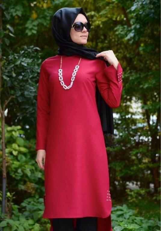 بالصور ملابس محجبات تركية , احدث المودلات للملابس المحجبات فى تركيا 2148 10