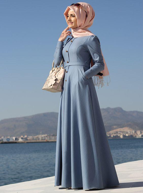 بالصور ملابس محجبات تركية , احدث المودلات للملابس المحجبات فى تركيا 2148 9