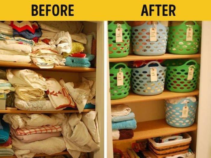 صوره تنظيم البيت , طرق كثيره لتنظيم البيت بشكل اسهل