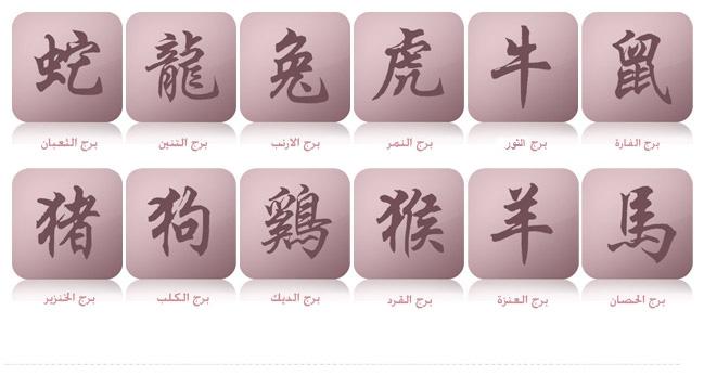 بالصور كيف اعرف برجي الصيني , معرفه حظك اليوم من الابراج الصينيه 2165 2