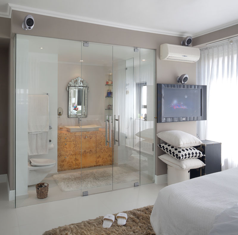 صوره حمامات داخل غرف النوم , احدث ديكورات للحمام