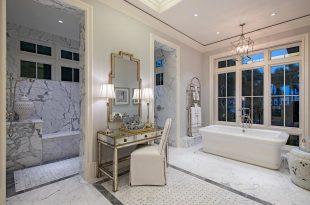 صورة حمامات داخل غرف النوم , احدث ديكورات للحمام