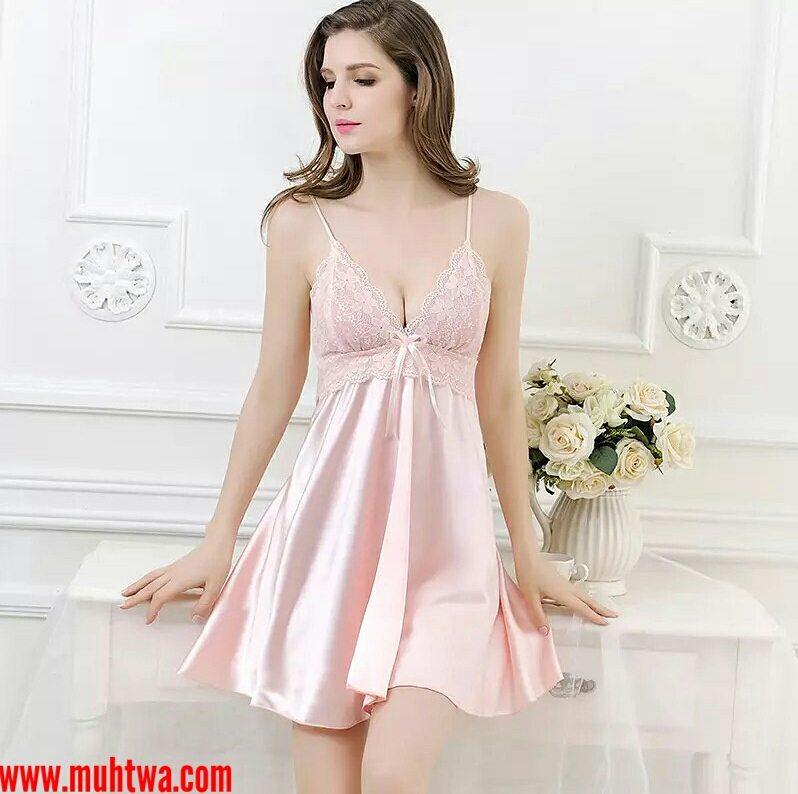 a3866d475 قمصان نوم ستان , اجمل مودلات اللانجيرى للعروسه - بنات كول