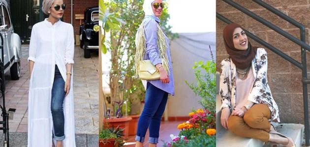 بالصور تنسيق الملابس للمحجبات , اجمل المودلات للملابس المحجبات 2019 2177 3