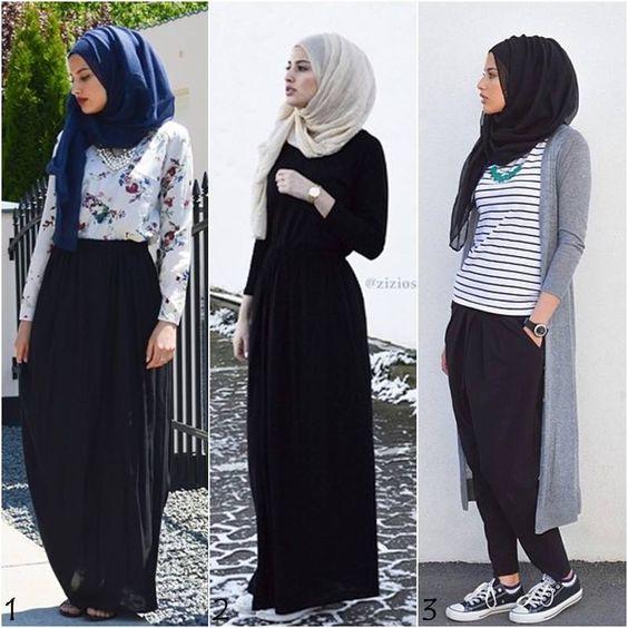 بالصور تنسيق الملابس للمحجبات , اجمل المودلات للملابس المحجبات 2019 2177 5
