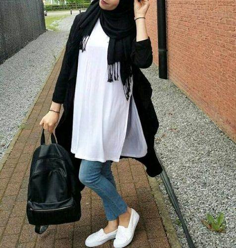 بالصور تنسيق الملابس للمحجبات , اجمل المودلات للملابس المحجبات 2019 2177 9