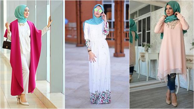 صوره تنسيق الملابس للمحجبات , اجمل المودلات للملابس المحجبات 2019
