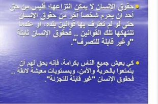 بالصور ما هي حقوق الانسان , ماهى شروط حقوق الانسان 3083 3 310x205