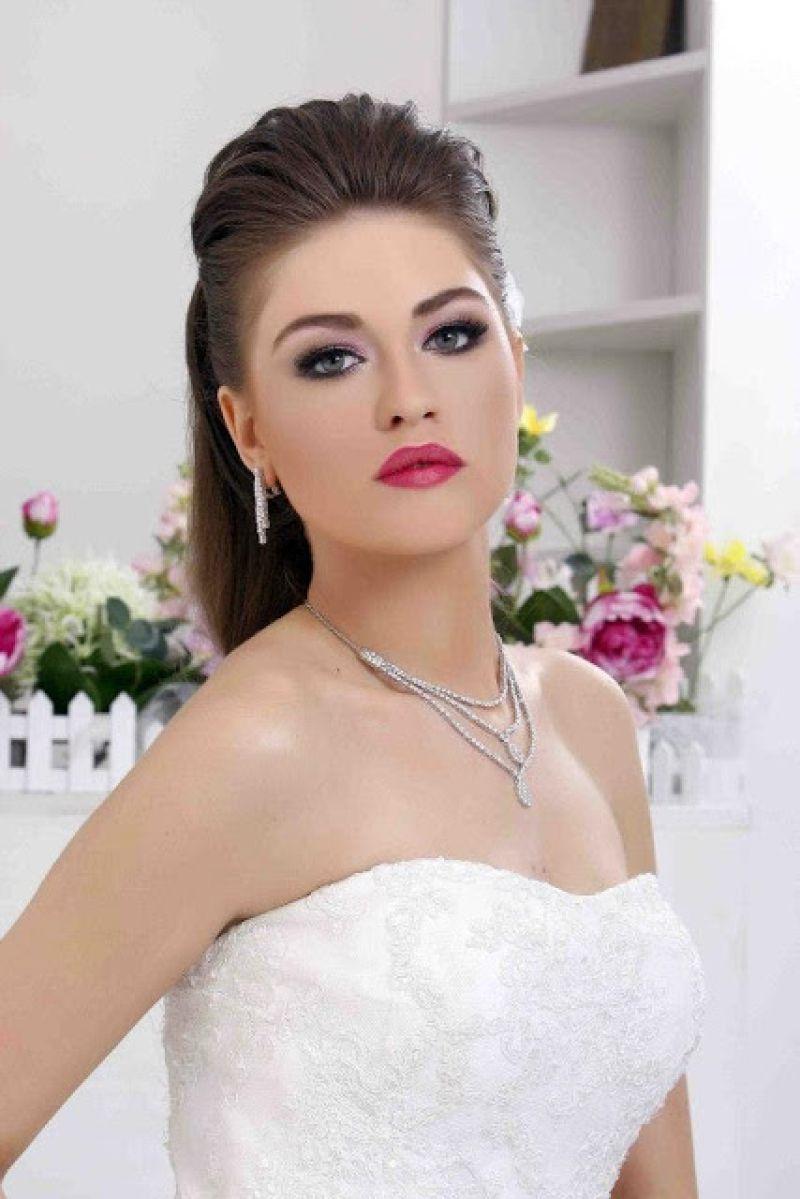 صورة صور مكياج عرايس , اجمل مكياج هادي للعروسة