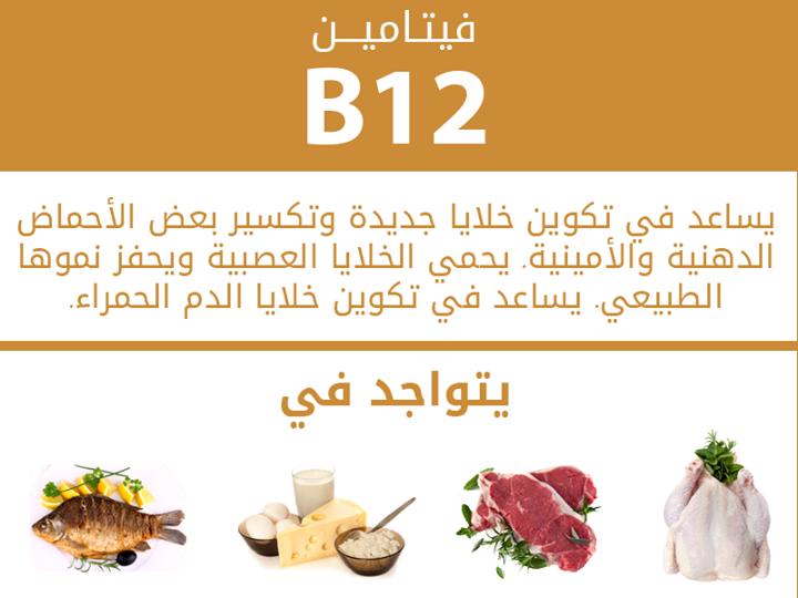 صوره ما هو فيتامين b12 , فوائد فيتامين B12