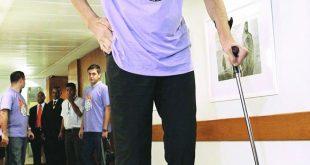 صوره اطول رجل في العالم , شاهد اطول رجل فى الكون