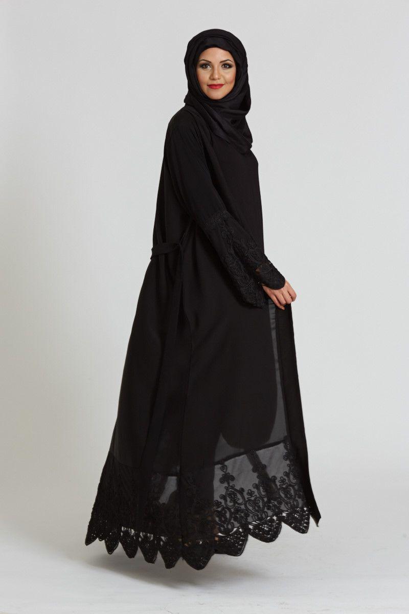 بالصور عبايات سعودية , موديلات عبايات سعودية جميلة 1242 1