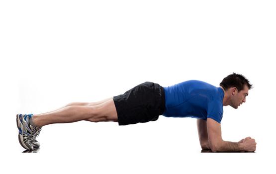 صورة تمرين البلانك , كيفية عمل و فوائد تمرين البلانك