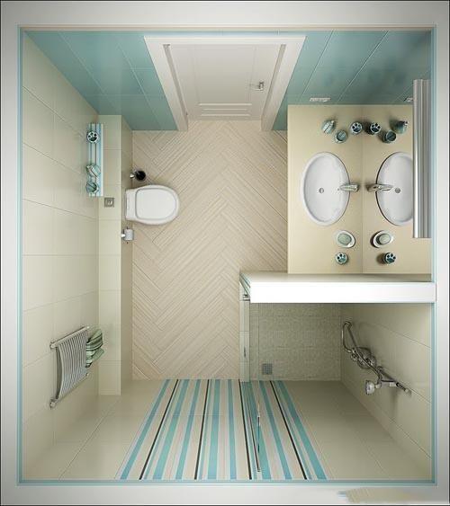 ديكورات حمامات صغيرة جدا وبسيطة تصميمات بسيطة لحمام صغير بنات كول