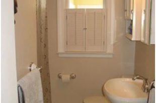صورة ديكورات حمامات صغيرة جدا وبسيطة , تصميمات بسيطة لحمام صغير