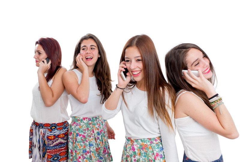 صورة فتاة مراهقة , الفتيات في سن المراهقة