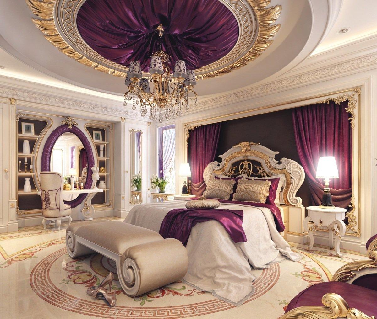 بالصور غرف نوم فخمه , اجمل و افخم غرف النوم 1506 3