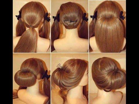 بالصور تسريحات للشعر الطويل بسيطة , الحديث و البسيط في تسريحات الشعر الطويل 1537 10