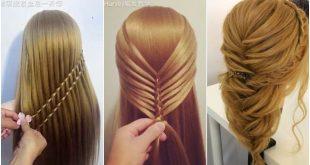 بالصور تسريحات للشعر الطويل بسيطة , الحديث و البسيط في تسريحات الشعر الطويل 1537 11 310x165
