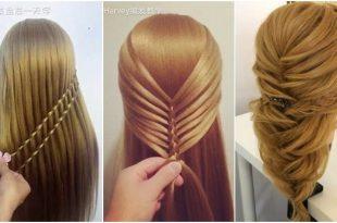 بالصور تسريحات للشعر الطويل بسيطة , الحديث و البسيط في تسريحات الشعر الطويل 1537 11 310x205