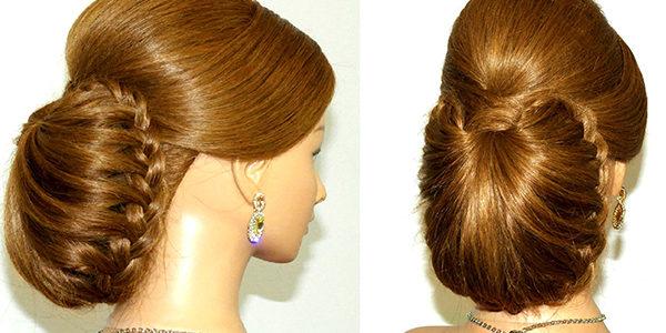 بالصور تسريحات للشعر الطويل بسيطة , الحديث و البسيط في تسريحات الشعر الطويل 1537 2