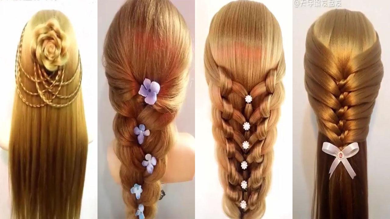 بالصور تسريحات للشعر الطويل بسيطة , الحديث و البسيط في تسريحات الشعر الطويل 1537 3