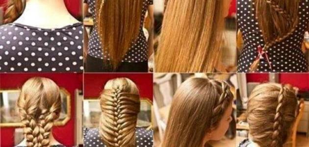 بالصور تسريحات للشعر الطويل بسيطة , الحديث و البسيط في تسريحات الشعر الطويل 1537 6