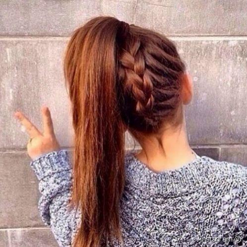 بالصور تسريحات للشعر الطويل بسيطة , الحديث و البسيط في تسريحات الشعر الطويل 1537 7