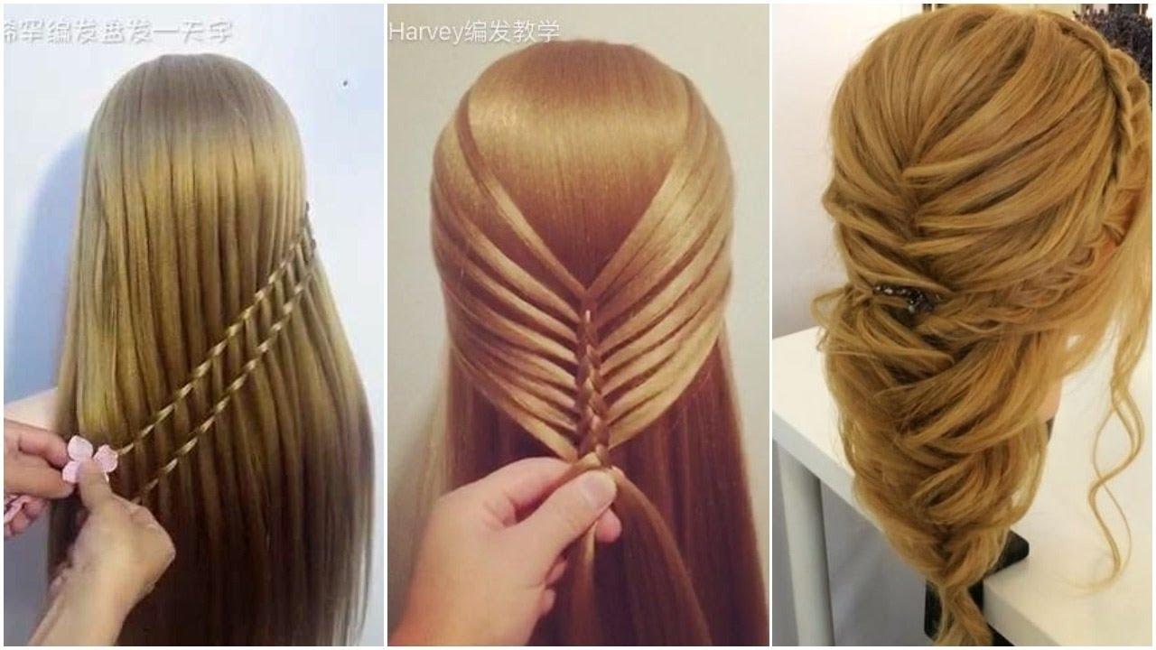 صور تسريحات للشعر الطويل بسيطة , الحديث و البسيط في تسريحات الشعر الطويل