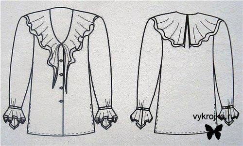 صورة تفصيل بلوزة , كيفية عمل بلوزة