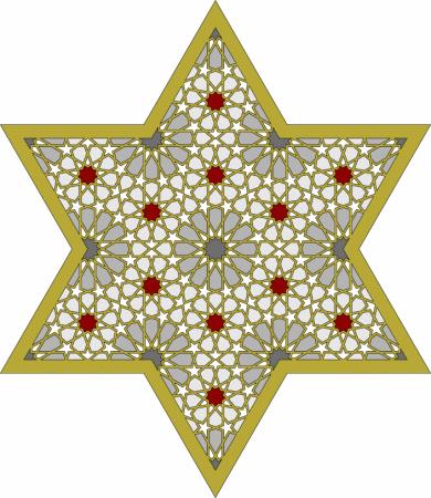 صورة زخرفة هندسية , اجمل الزخارف الهندسية
