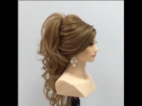 بالصور تسريحات شعر بسيطة , اجمل واشيك تسريحة شعر 288 1