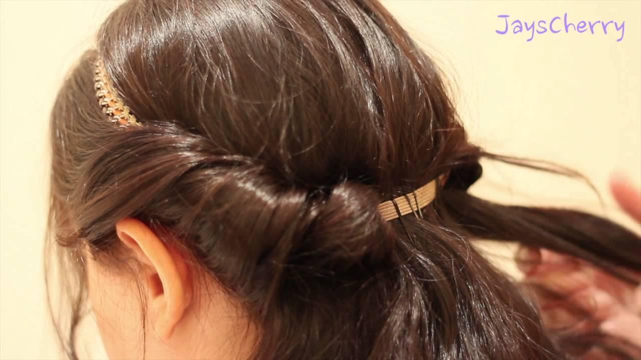 بالصور تسريحات شعر بسيطة , اجمل واشيك تسريحة شعر 288 4
