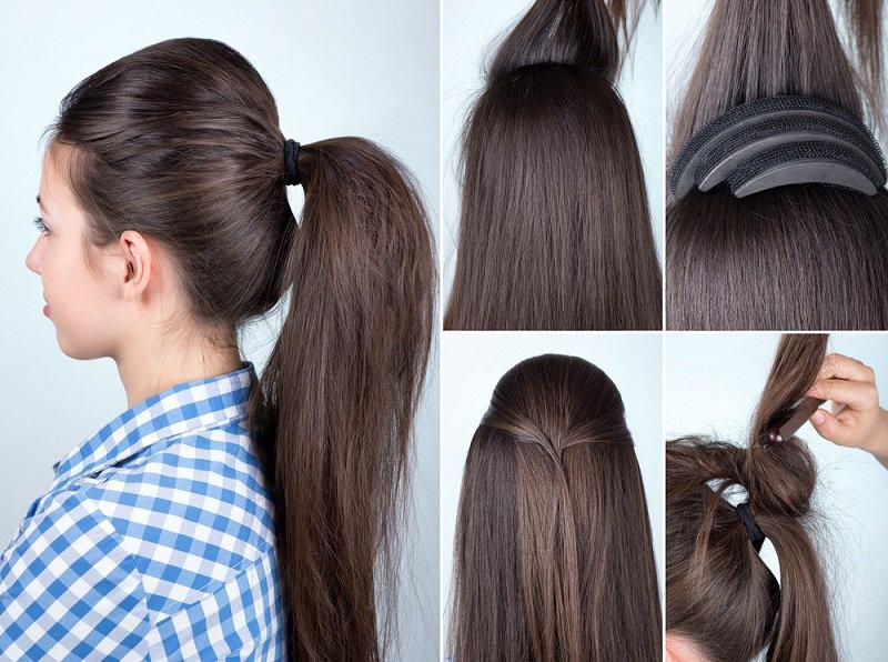 بالصور تسريحات شعر بسيطة , اجمل واشيك تسريحة شعر 288 5