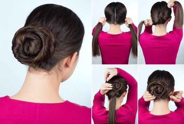 بالصور تسريحات شعر بسيطة , اجمل واشيك تسريحة شعر 288 6