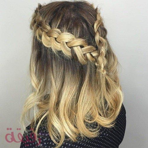 بالصور تسريحات شعر بسيطة , اجمل واشيك تسريحة شعر 288 7